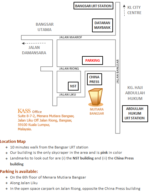 IP Law Firm Malaysia Location