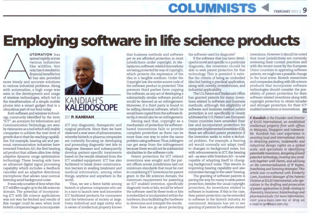 [Die Petrischale] Employing Software in Life Science Products