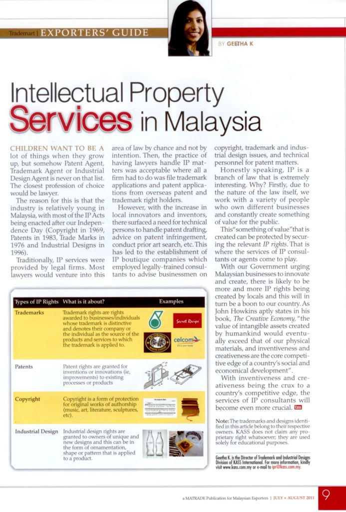 [Trademart] Intellectual Property Services in Malaysia