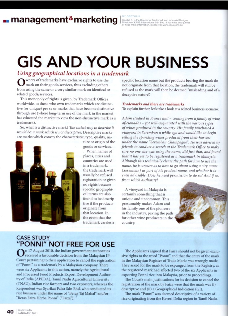 [Business Today] GIS and your business-Page 1