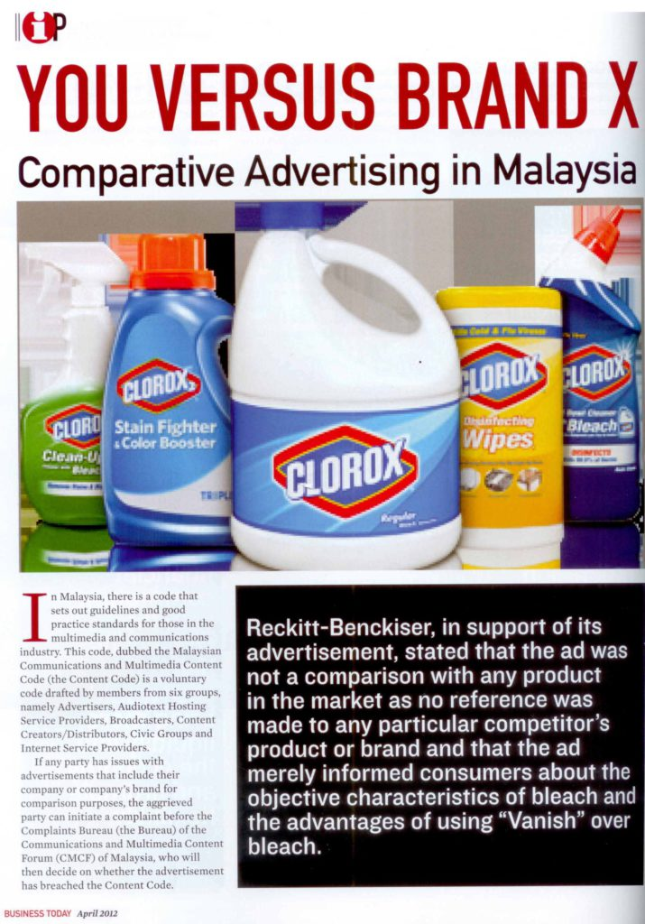 [Business Today] You Versus Brand X-Pg 1