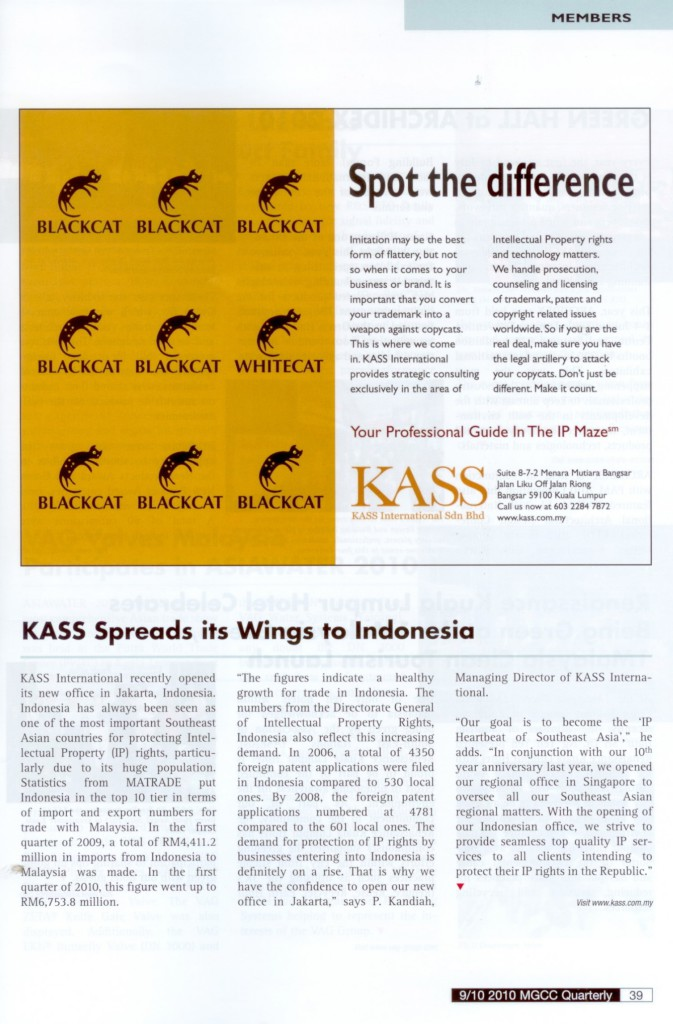 [MGCC Quarterly] KASS Spread its Wings to Indonesia