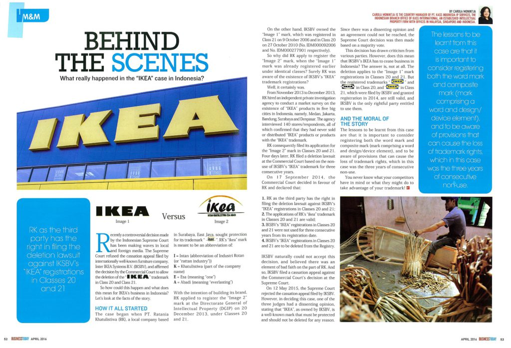 "[Business Today] Behind the scenes What really happened in the ""IKEA"" case"