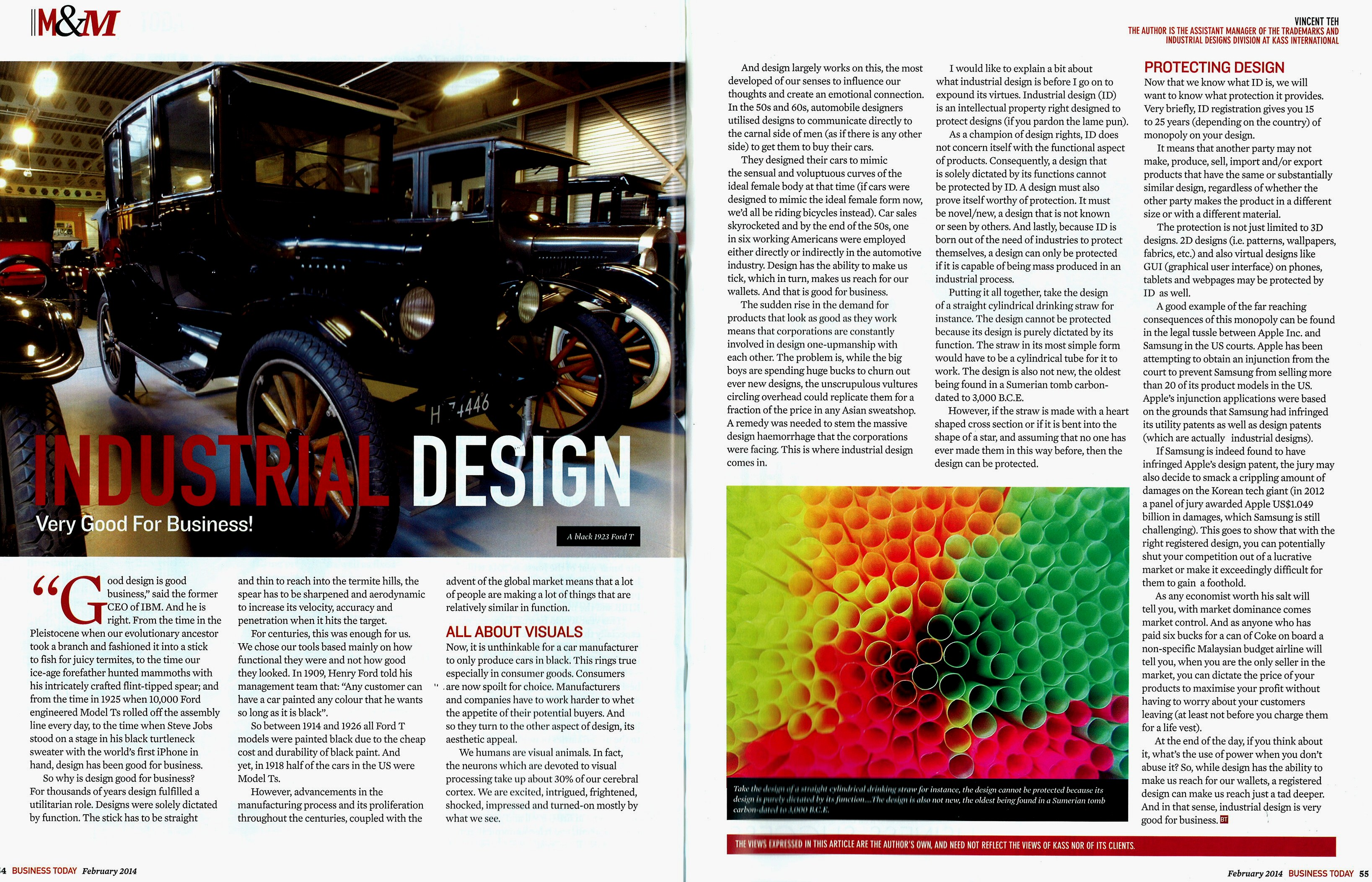 Business today industrial design very good for for Good industrial design