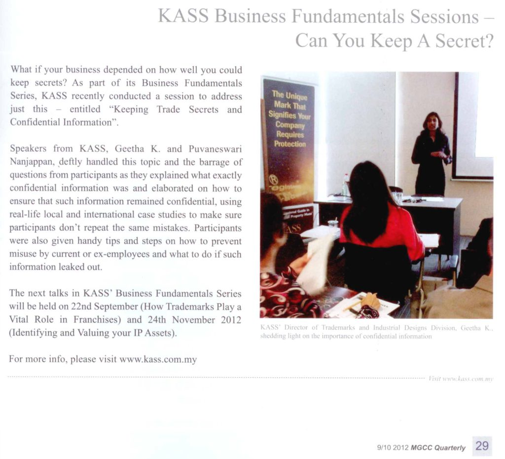 MGCC-Quarterly-KASS-Business-Fundamentals-Sessions-Can-You-Keep-A-Secret