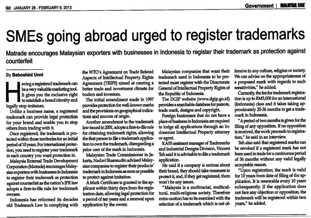 Malaysia-SME-SMEs-Going-Abroad-Urged-To-Register-Trademarks
