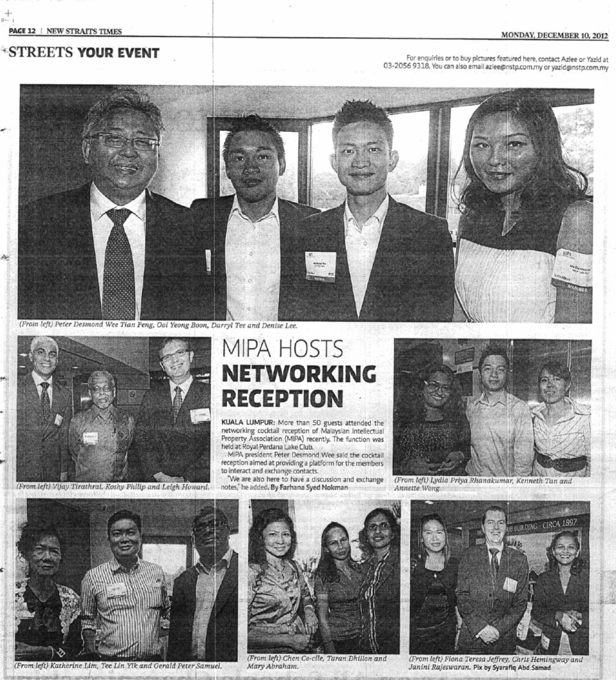 New-Straits-Times-MIPA-Hosts-Networking-Reception