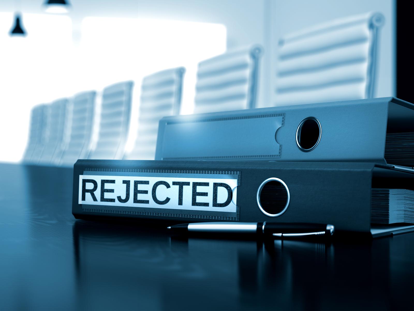 是你的专利申请被拒?